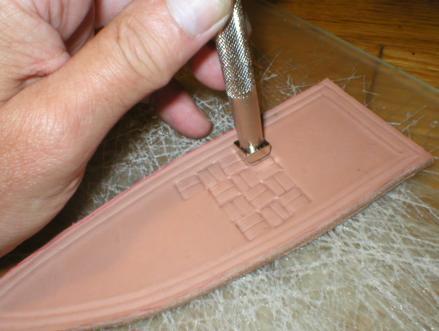 NorthCoast Knives Tutorials Leather Embellishment